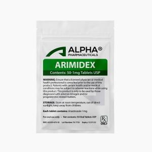 Alpha PC Arimidex 50-1mg Tablets