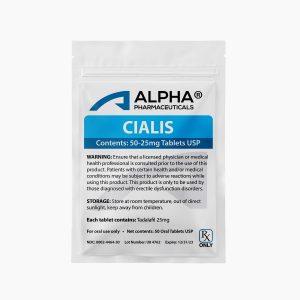 Alpha PC Cialis 50-25mg Tablets