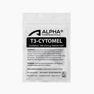 Alpha PC T3-Cytomel 100-25mcg Tablets