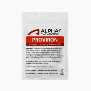 Alpha PC Proviron 50-25mg Tablets