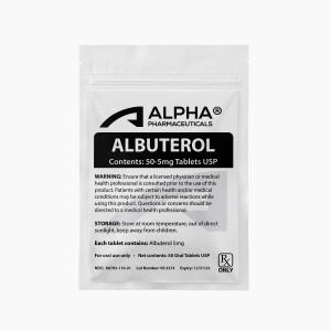 Alpha PC Albuterol 50-5mg Tablets