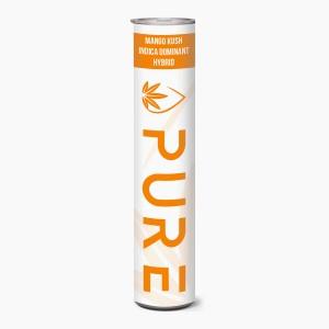Alpha Pharmaceuticals Pure Mango Kush 600mg - 510 Thread Distillate Cartridge Package 2